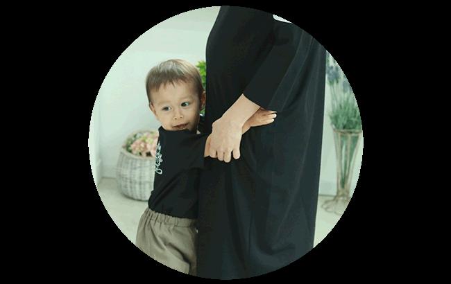 スウィートマミーのママから愛用された妊娠が分かりにくい服