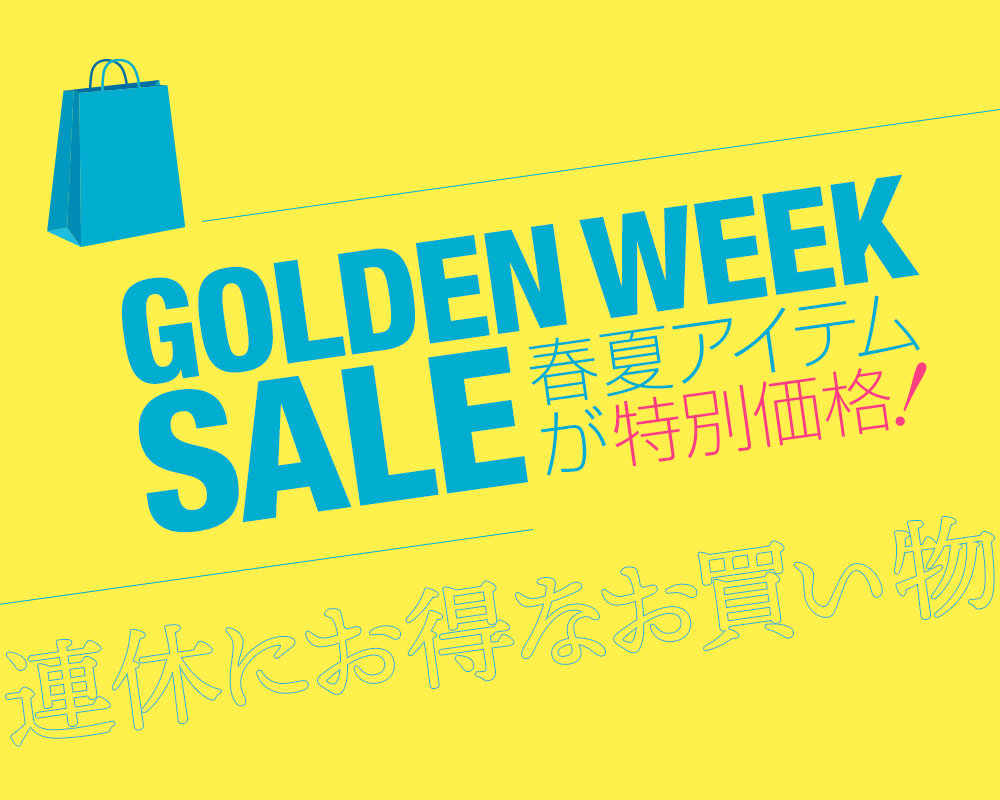 GOLDENWEEK SALE