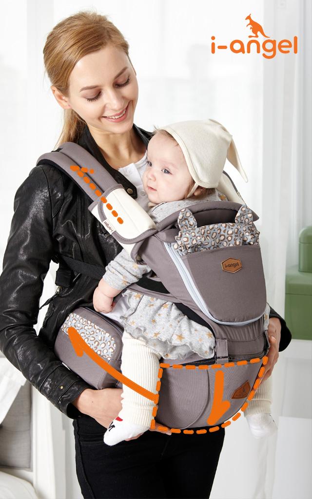 赤ちゃんもママも楽ちん抱っこ紐
