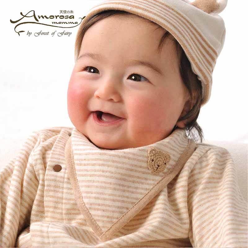 赤ちゃん よだれかけ着用イメージ