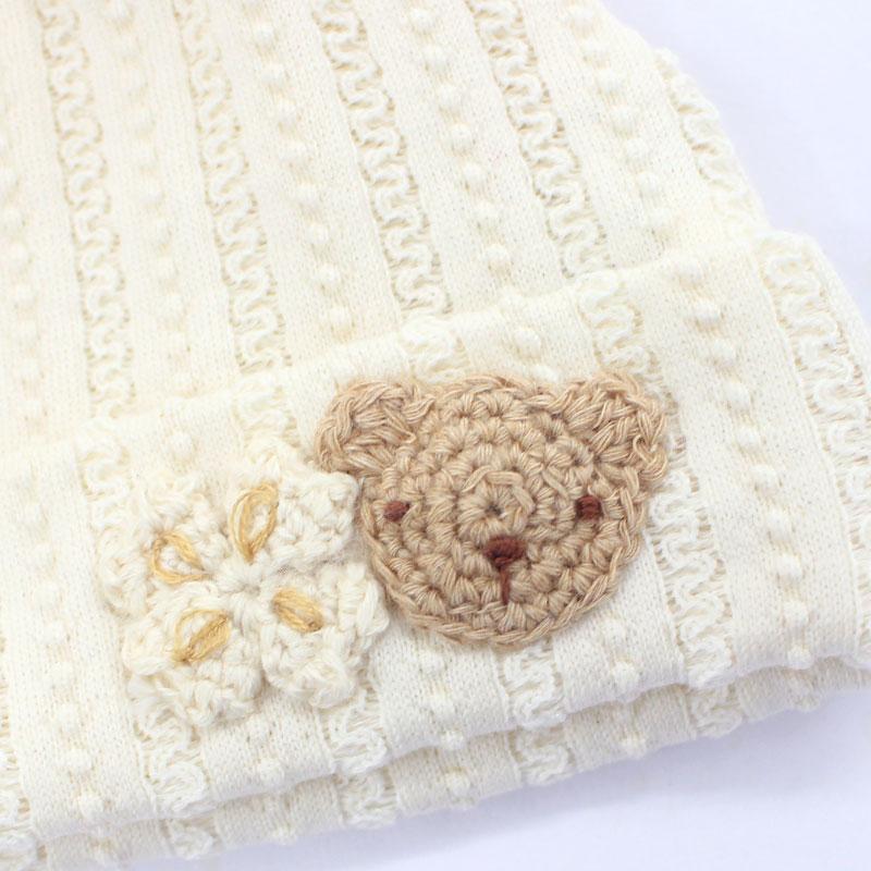 丁寧な編み モチーフ