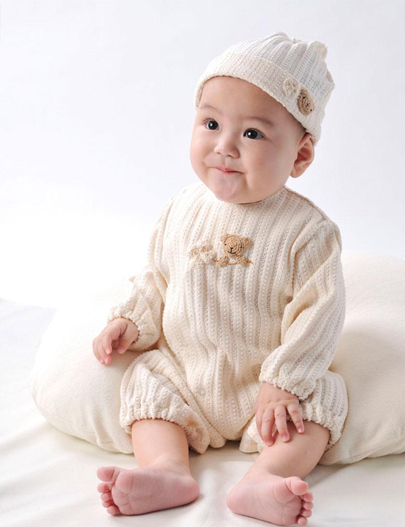 赤ちゃん ニット帽着用イメージ