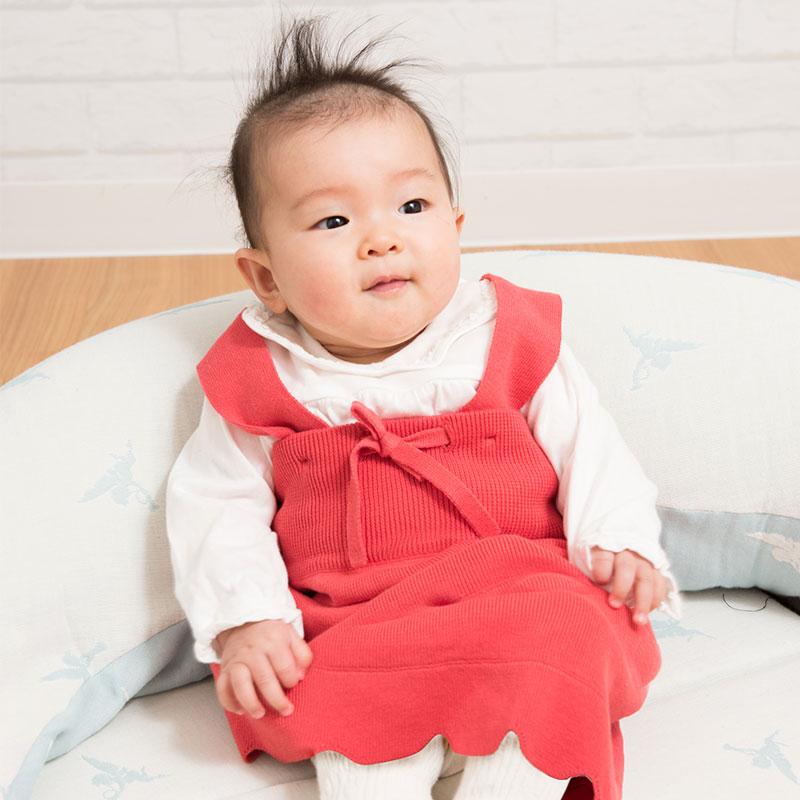 5カ月の赤ちゃんスカーレット着用のイメージ