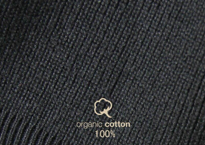 オーガニックコットン100%