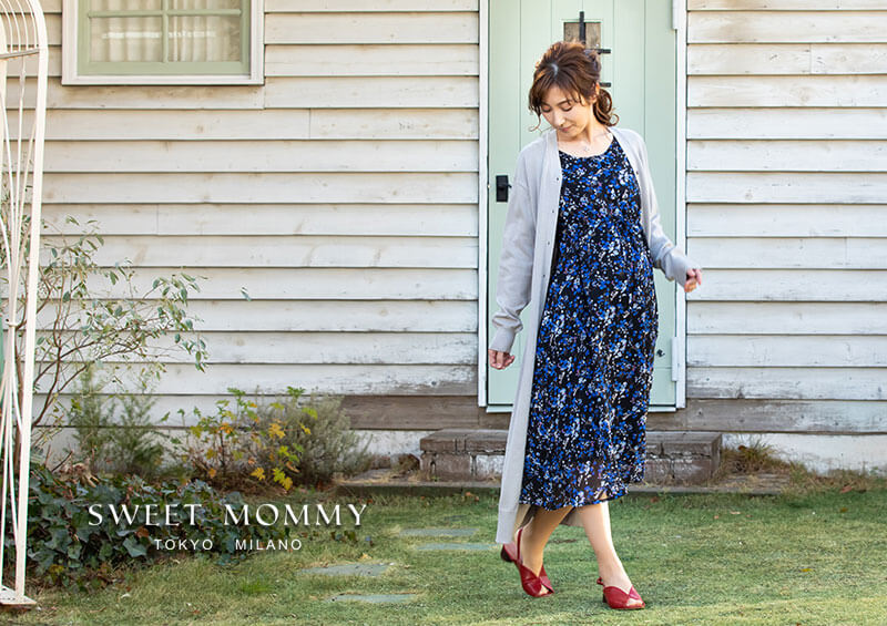 授乳服とマタニティウェアのスウィートマミーおすすめのマタニティワンピース