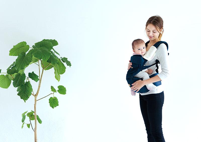 BABY&Me ヒップシートキャリア 使用イメージ