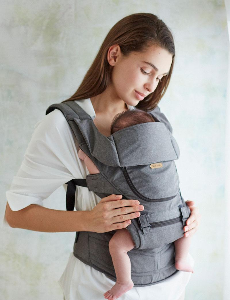 新生児の抱っこ オプション使用イメージ