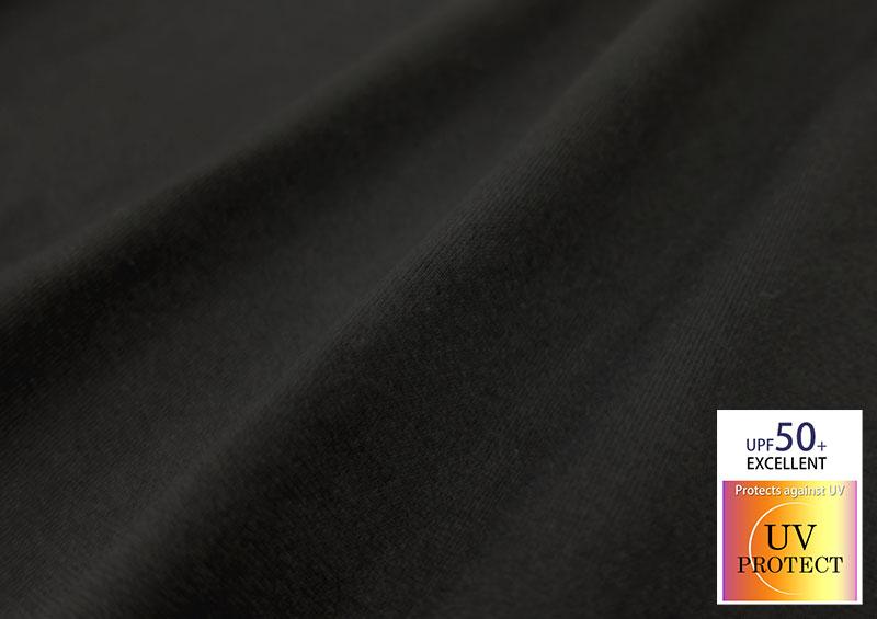 UPF50+で紫外線をカット