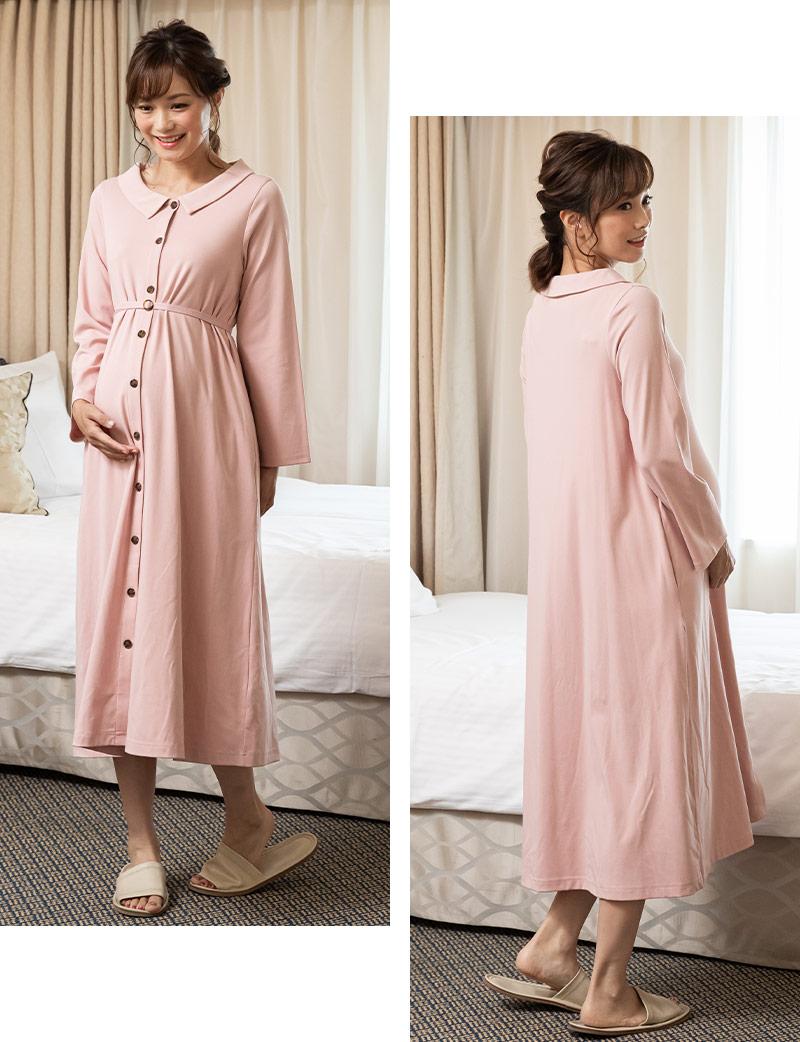 ピンク着用 全身スタイル