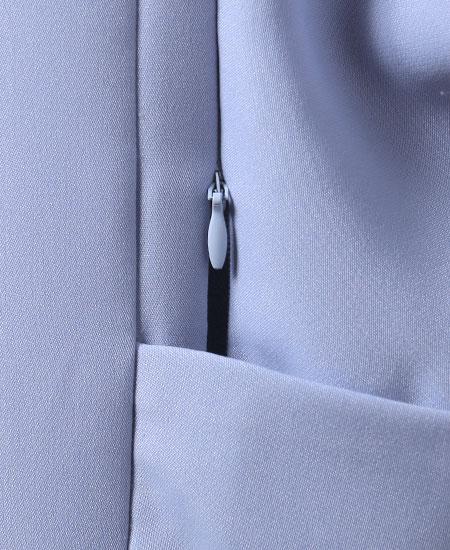 ポケットに隠れる授乳口ファスナー