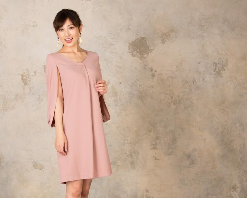 華やかな席にぴったりの授乳服ドレス