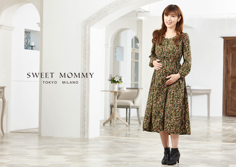 Sweet Mommyのマキシワンピ
