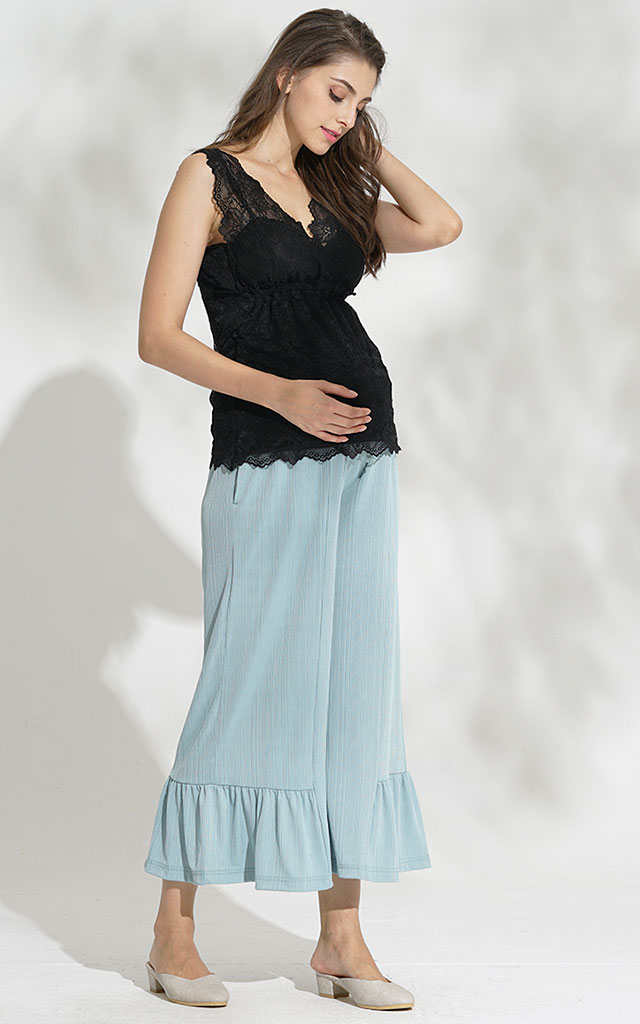 動ける着やせ産前産後パンツ
