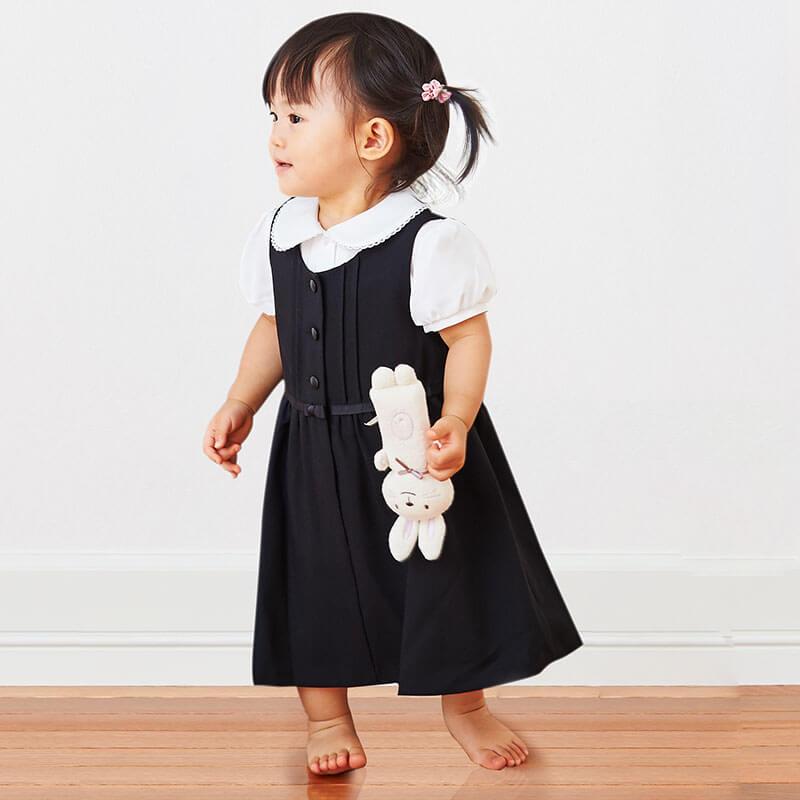 ジャンパースカートで小さな子もかわいいおめかし