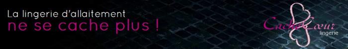 CacheCoeur 【カシュクール】 フランス インポート マタニティランジェリー リサシリーズ ワイヤー入り 授乳ブラジャー 【単品】ローズピンク