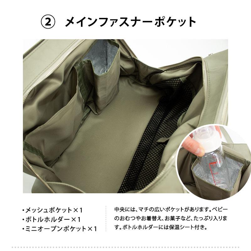 メインファスナーポケット