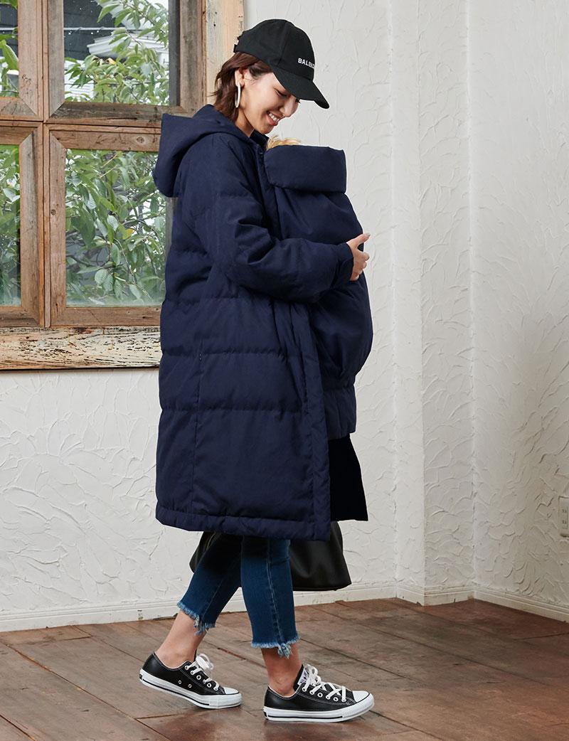 超軽量で暖かい!シンプルでスタイリッシュなダウンコート
