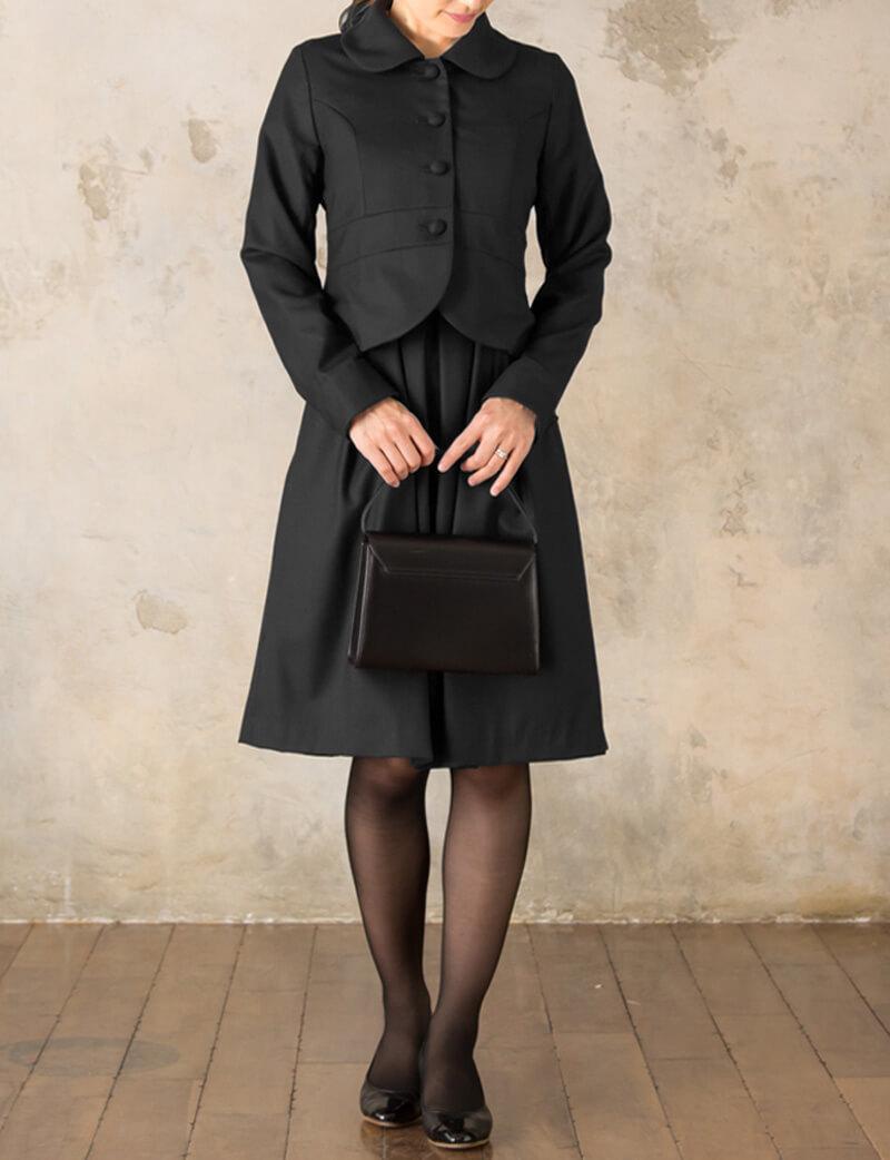 礼服としても活躍の漆黒