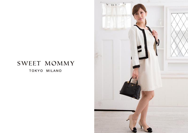 授乳服とマタニティウェアのスウィートマミーおすすめの上品授乳服ドレス
