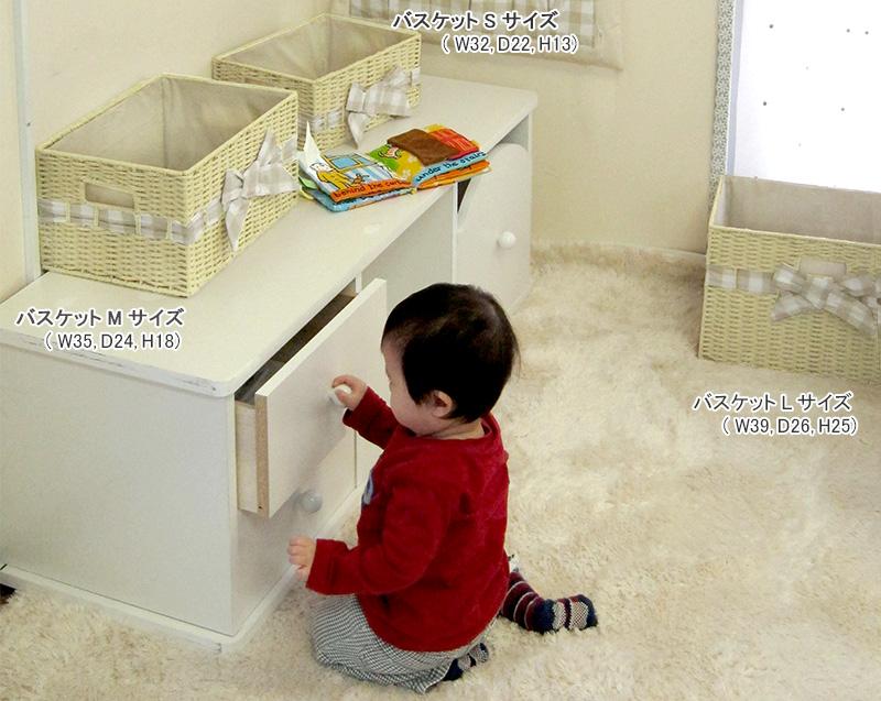 【デザイナーズ ギルド】ペーパーボックス バスケット Mサイズ dg3025 赤ちゃん/ベビー/ベビールーム/収納