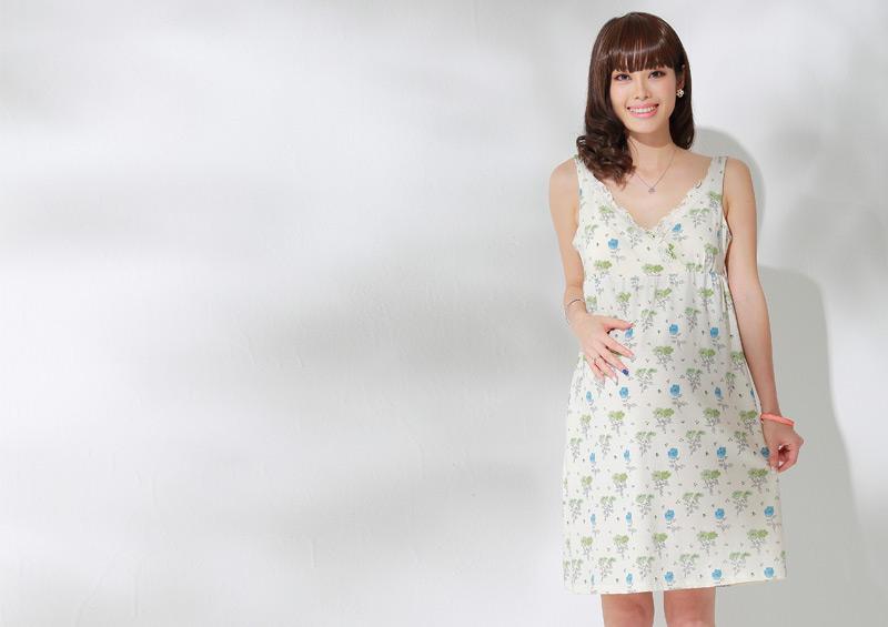 授乳服 マタニティ夏のパジャマ