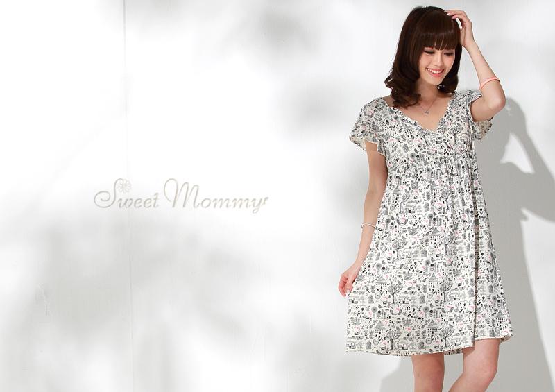 授乳服とマタニティウェアのスウィートマミーがおすすめするキティちゃんコラボママルームウェア