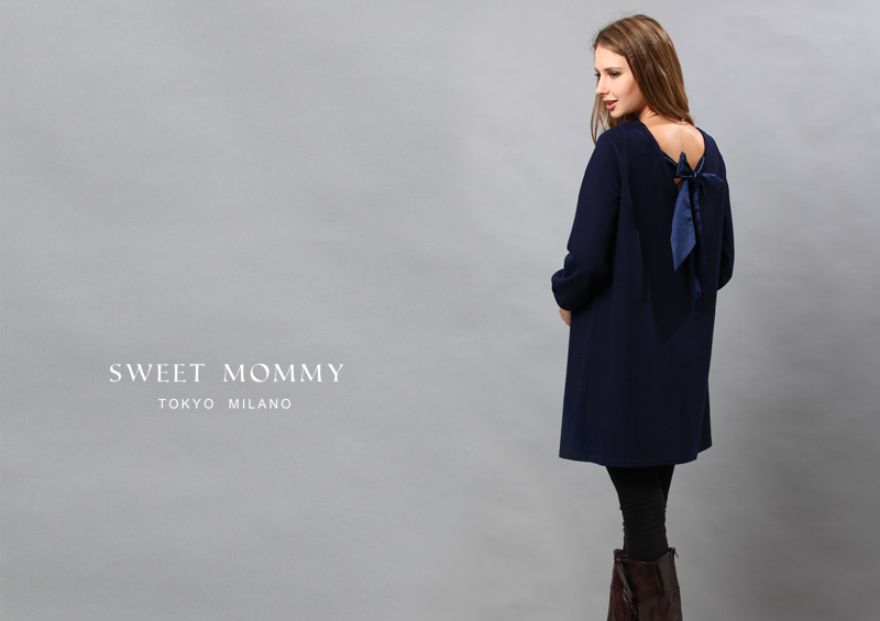 授乳服とマタニティウェアのスウィートマミーがおすすめするAラインカジュアル授乳服