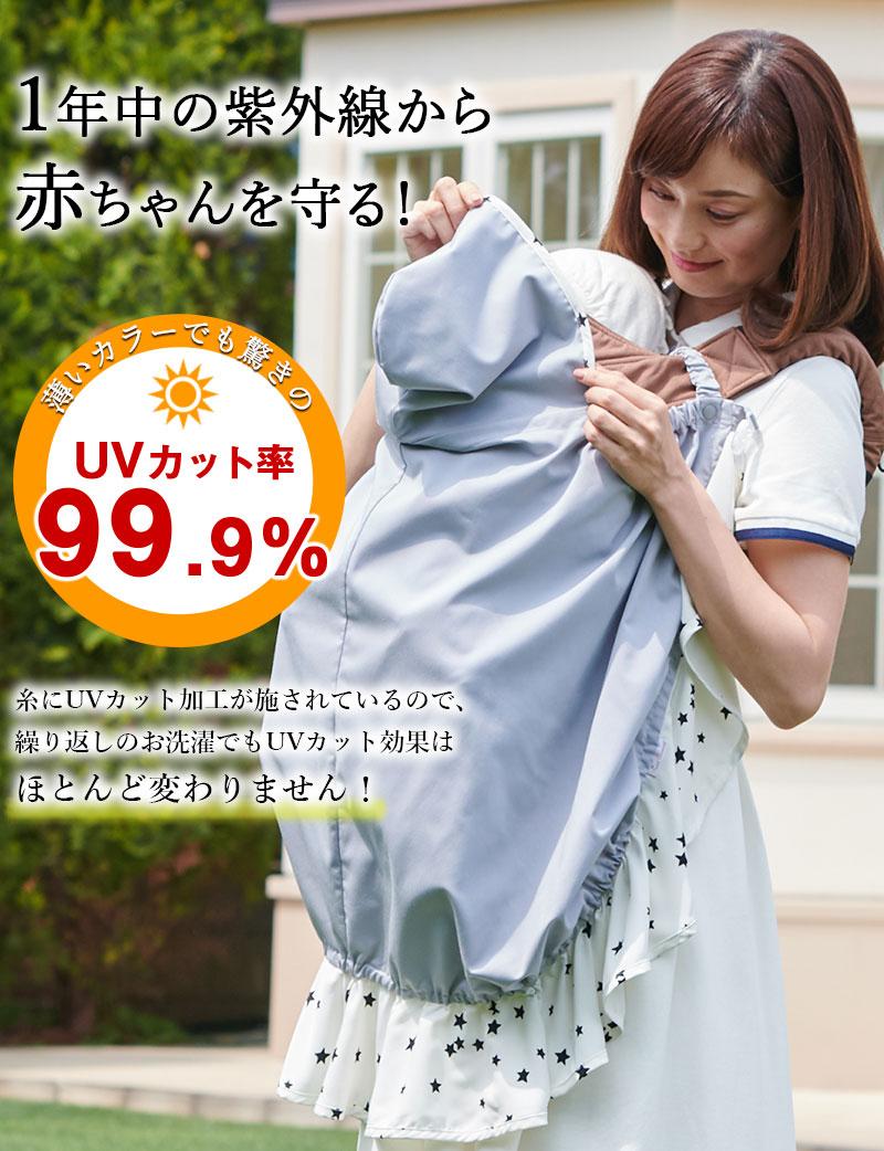 1年中の紫外線から赤ちゃんを守る