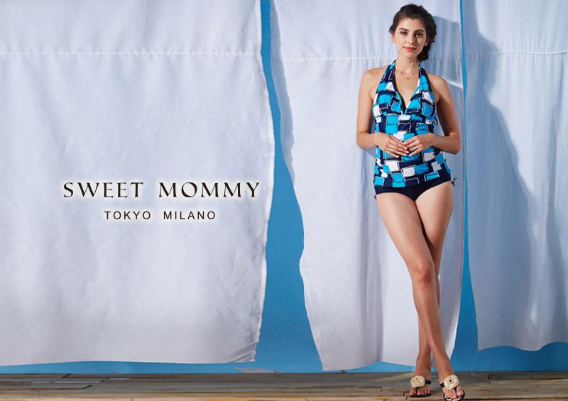 授乳服とマタニティウェアのスウィートマミーがおすすめするシンプルでかっこいいマタニティ水着