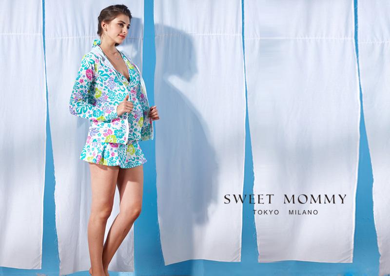 授乳服とマタニティウェアのスウィートマミーがおすすめする夏のUV対策ラッシュガード