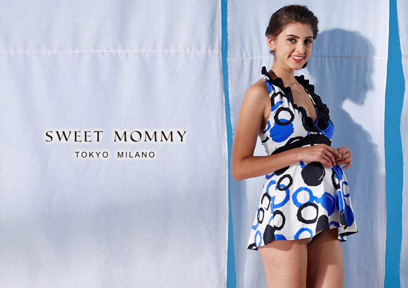 授乳服とマタニティウェアのスウィートマミーおすすめのワンピース水着