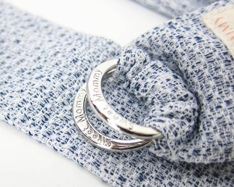 オリジナル刻印のリング