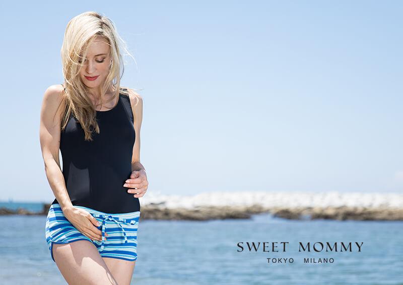 マタニティウェアと授乳服専門店のスウィートマミーおすすめの人気マタニティスイムウェア