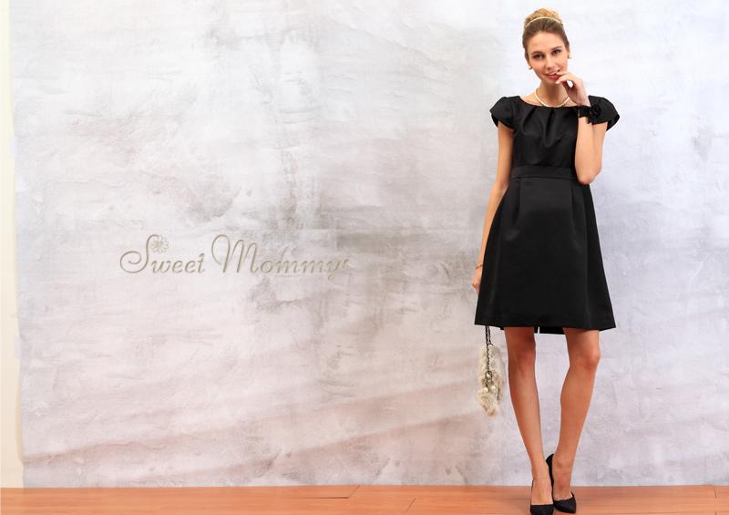 授乳服とマタニティウェアのスウィートマミーがおすすめするリュクスなマタニティドレス