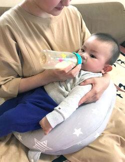 コンパクト授乳クッション マタニティ抱き枕