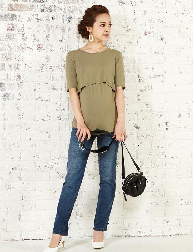 竹繊維Tシャツ