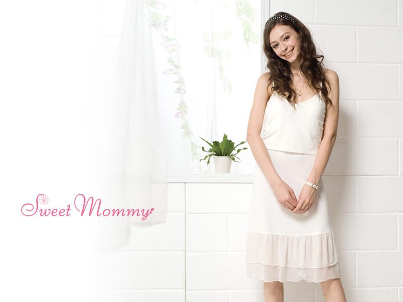おすすめの授乳服キャミワンピース