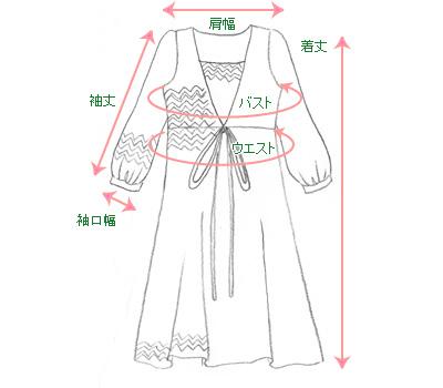 グラデーションボーダー授乳ワンピース【マリベル】 授乳服 絵型