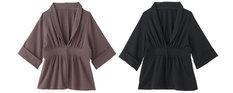 6分袖カットジャケット 授乳服&マタニティウェア[ma8158]
