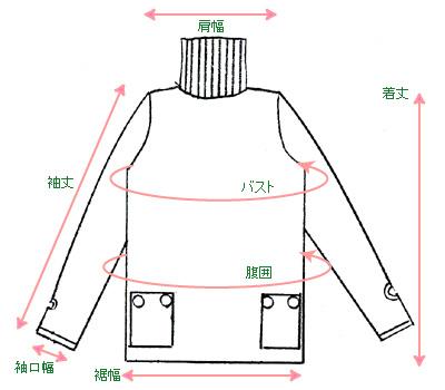 リブタートルコットンニット【シャーロット】2008バージョン(授乳口付き) 授乳服