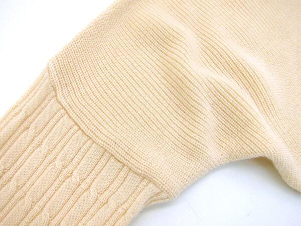 ケーブル編みアップ