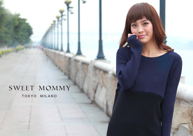 授乳服とマタニティウェアのスウィートマミーがおすすめするあったか授乳服ニット