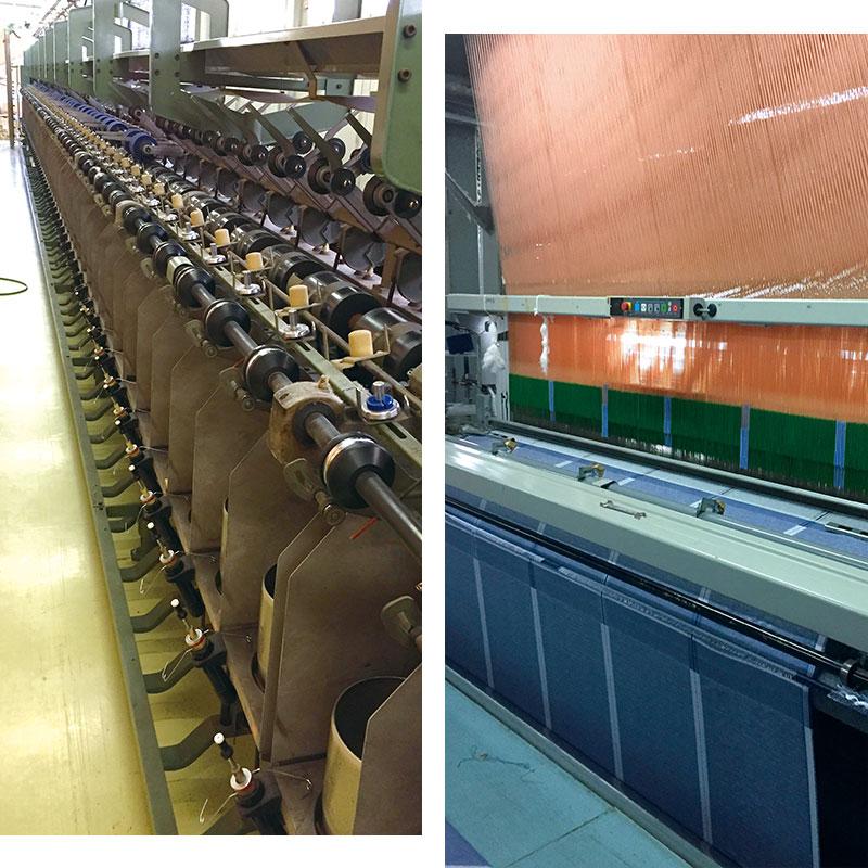 糸から全ての製造を、一貫して自社で行う