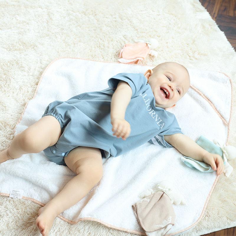 新生児 タオルおくるみ