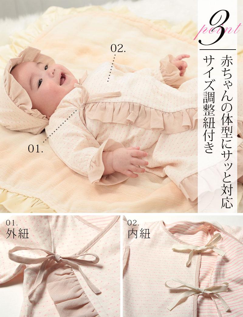 赤ちゃんの体型にさっと対応!