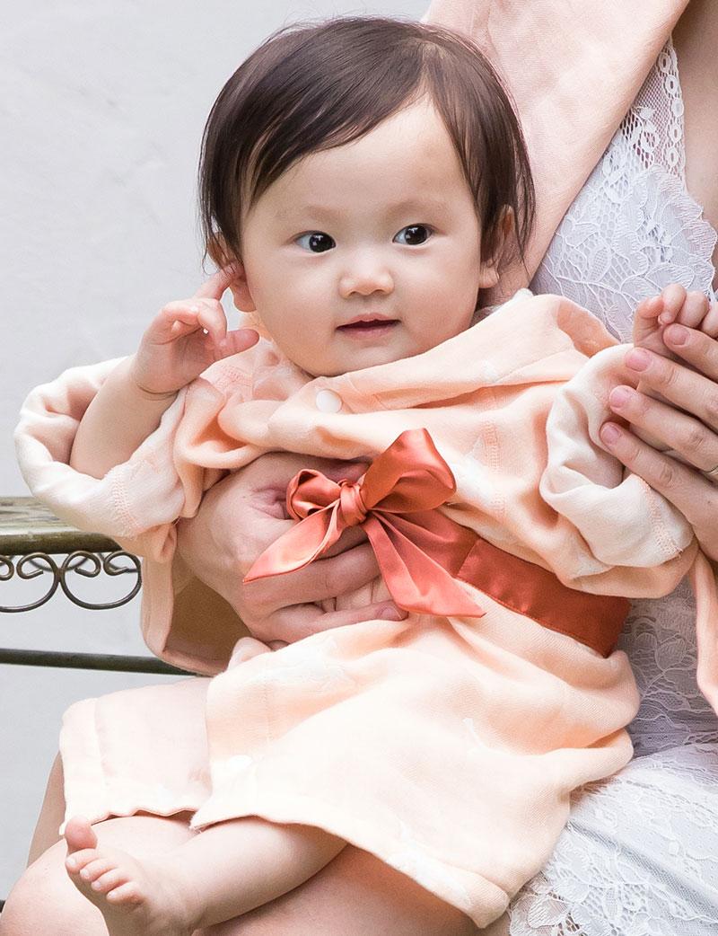 こだわり素材で優しく赤ちゃんを包み込みます