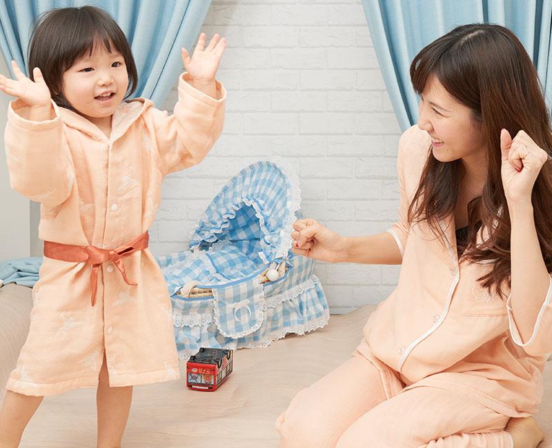 ママとリンクコーデが楽しめるベビー服