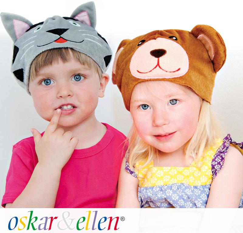 動物帽子で簡単仮装♪しっぽ付きでかわいい!