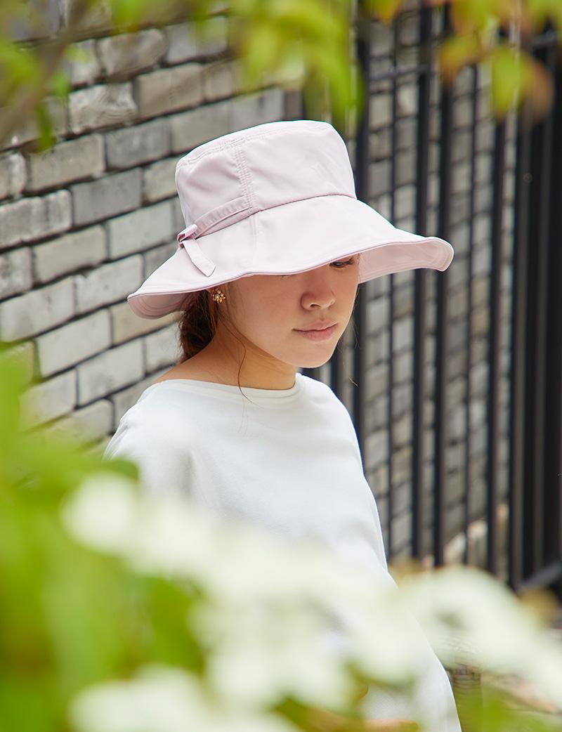 小さくたたんっで使えるからとっても便利な帽子