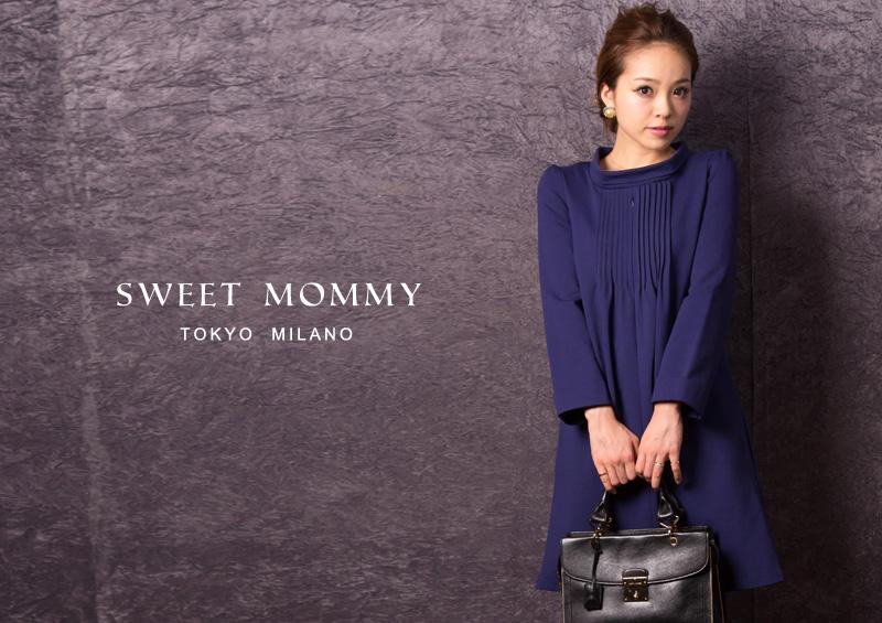 授乳服とマタニティウェアのスウィートマミーがおすすめするクラシカルフォーマル授乳服ワンピース